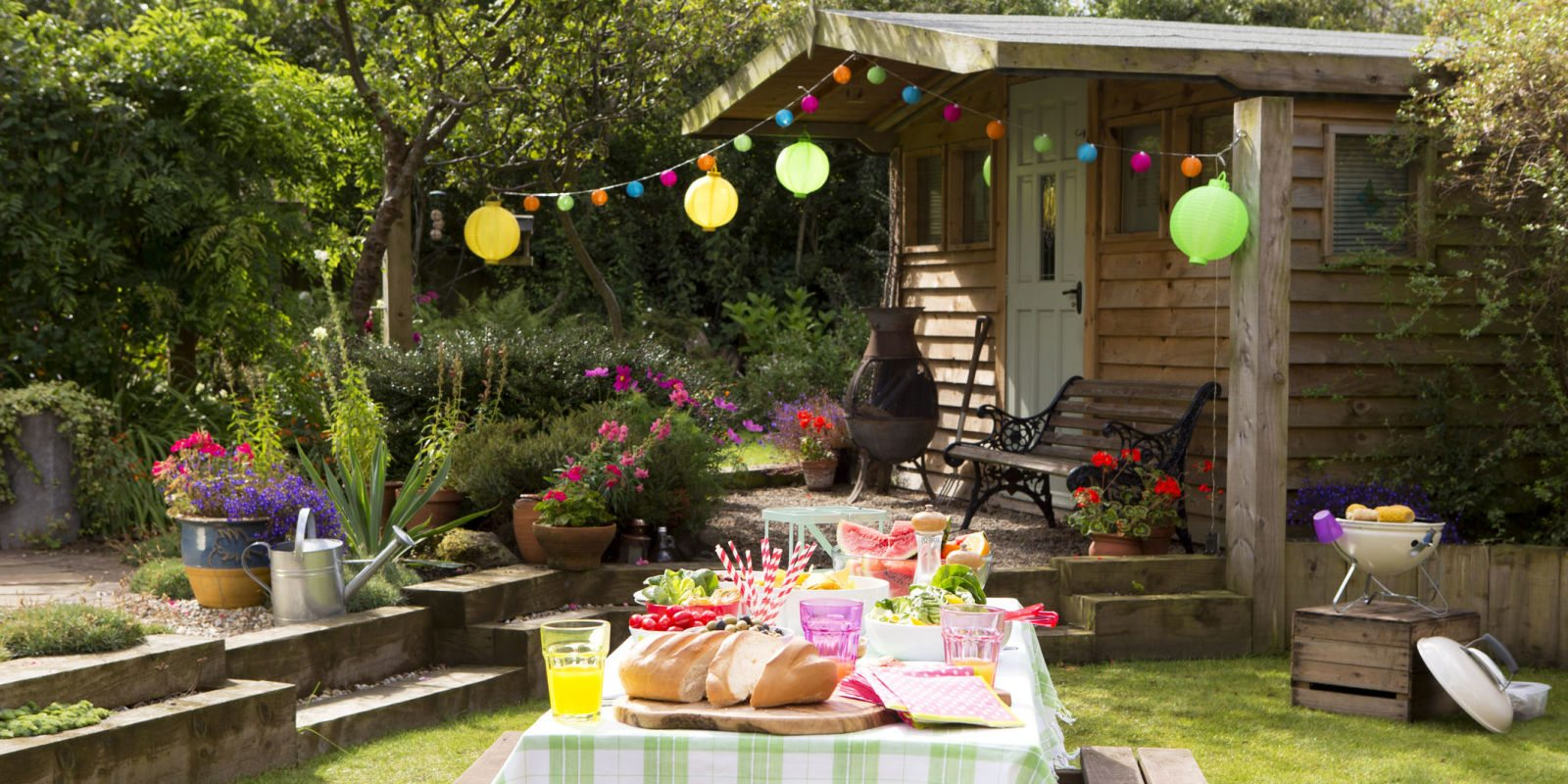 Apartment Decorating Ideas Host The Perfect Summer Bbq With The Help Of Smart Home